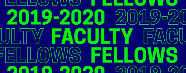 2019-2020 Faculty Fellows