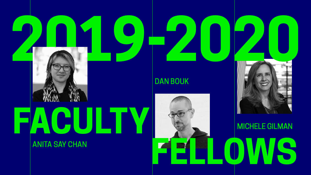 2019-2020 Faculty Fellows