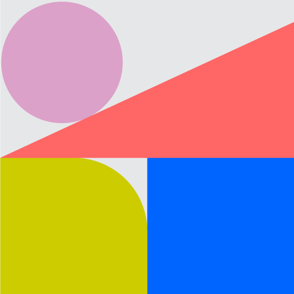 colorful shapes arranged in a square